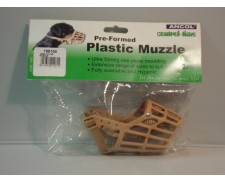 Ancol Plastic Dog Muzzle Small Size 01 - 02 by Ancol
