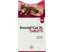 Drontal Cat Extra Large Tablets Ellipsoid x 8 by Drontal