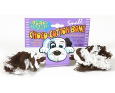 Tugger Choco Cotton Bone Small by Misc