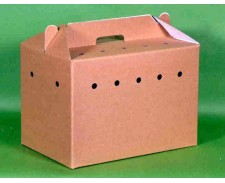 Catac Cardboard Cat Carrier by Catac