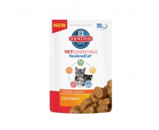 Hill's Science Plan Vet Essentials Feline Adult Neutered Cat Chicken Pouches by HILL'S PET NUTRITION
