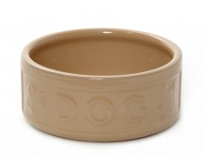 Rayware Ceramic Feed Bowl Dog Lettered 5inch by Misc