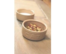 Rayware Ceramic Feed Bowl Cat Lettered by Misc