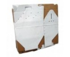 William Daniels Cat Box White Cardboard by Misc