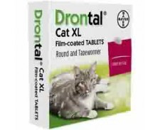 Drontal Cat Extra Large Tablets Ellipsoid x 2 by Drontal