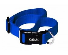 Canac Adjustable Collar Blue Size 12 - 18 by Misc