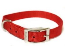 Canac Collar Red Size 14 - 16 by Misc
