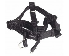 Canac Nylon Dog Harness Black Size 3/8 by Misc
