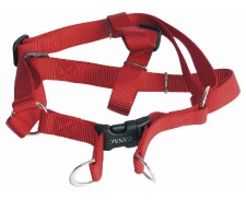 Canac Nylon Dog Harness Red Size 5/8 by Misc