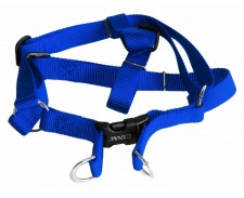 Canac Nylon Dog Harness Blue Size 3/8 by Misc