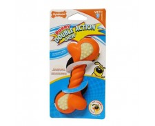 Nylabone Puppy Double Action Chew Petite by Nylabone
