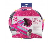 Ancol Acticat Y Shaped Play Tunnel by Ancol