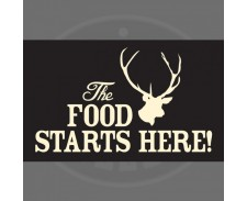 Petrebellion Food Mat Stag - Black by Misc
