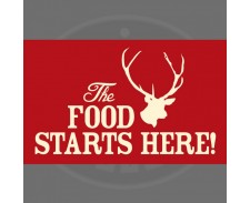 Petrebellion Food Mat Stag - Red by Misc