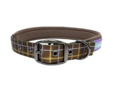 Collar Padded Brown 14-18