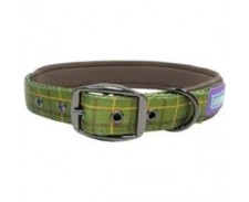 Collar Padded Green 18-22 by Hem & Boo