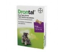 Drontal Tasty Bone Tablets 2pk by Drontal