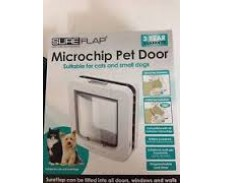 Sureflap Microchip Pet Door White by Misc