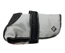 Dog Coat Ultimate 2in1 Grey/Black 40cm 16