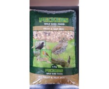 Peckers Premium Wild Bird Mix With Fruit & Nut 2.5KG by Peckers