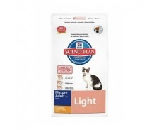 Hill's Science Plan Feline Mature Adult 7+  Light Chicken by Hills