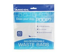Ancol Bio-Degradable Poop Bags by Ancol