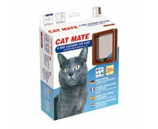 Cat Mate PVC 4 Way Lock Cat Flap by Misc