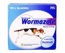 Wormazole Granules Dog & Puppy 2g by Norbrook Labs.(gb) Ltd.