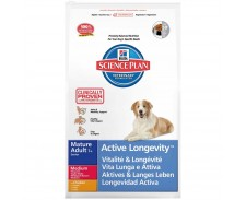 Hill's Science Plan Canine Mature Adult 7+ Active Longevity Medium Chicken by Hills