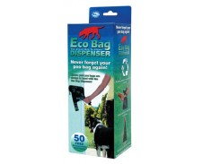 Eco Bag Dispenser + 50 Bio Degradable Bags by Misc