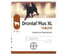 Drontal Plus XL Flavour tablets by Drontal