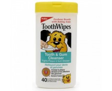 Petkin Tooth Wipes x 40 by Petkin
