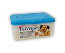 Petkin Pet Wipes x 100 by Petkin